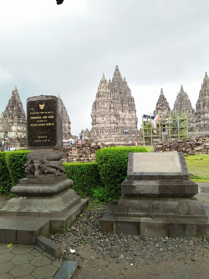 Yogyakarta Candi Prambanan Temple Indonesia