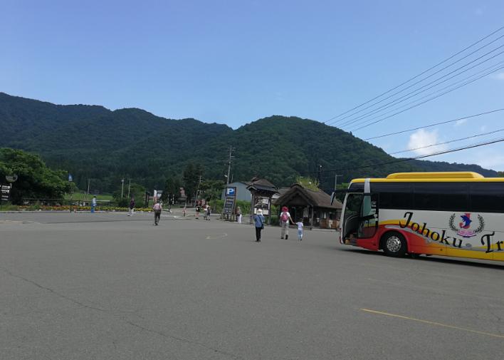 Ouchi-juku Fukushima, Japan.
