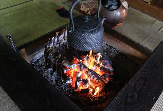 Ouchi-juku Fukushima restaurant.