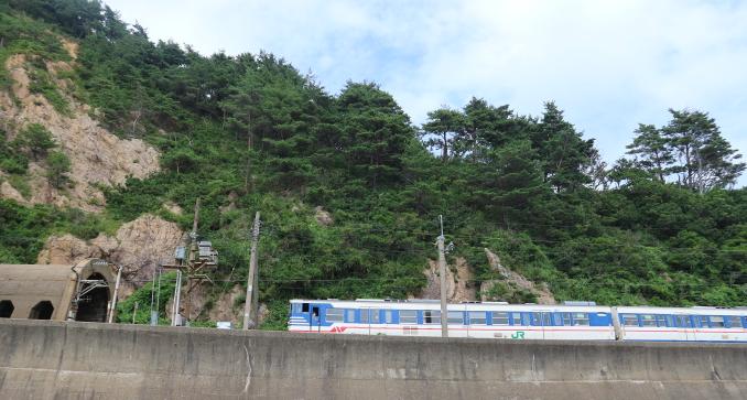 Sasagawa Nagare tunnel.
