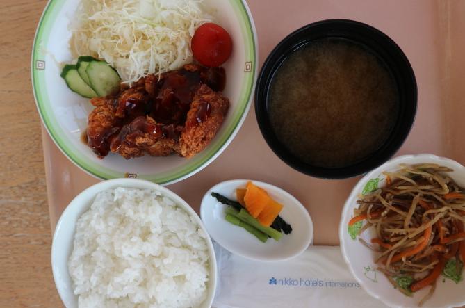 Pork Tonkatsu from Panorama restaurant at Toki Messe Japan.