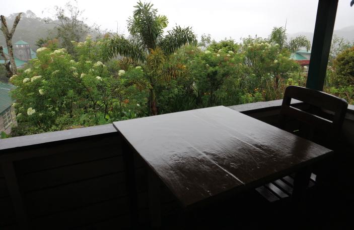 Balcony at Saint Joseph Resthouse Sagada.