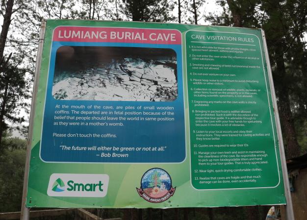 Lumiang Cave, Sagada.