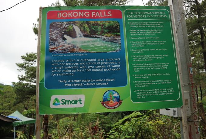 Borong Falls Sagada.