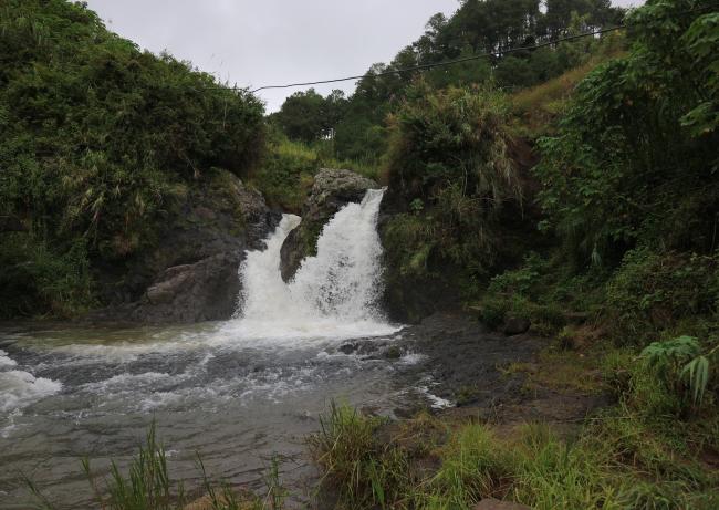 The Boronf Falls st Sagada.