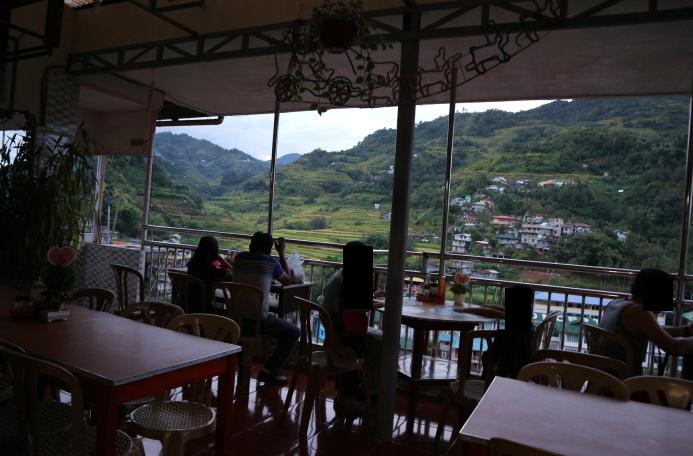 The People's Lodge Restaurant Banaue, Philippines.
