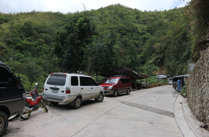 The Parking Area at Batad Rice Terraces.
