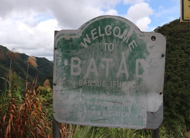 The Batad Rice terraces.