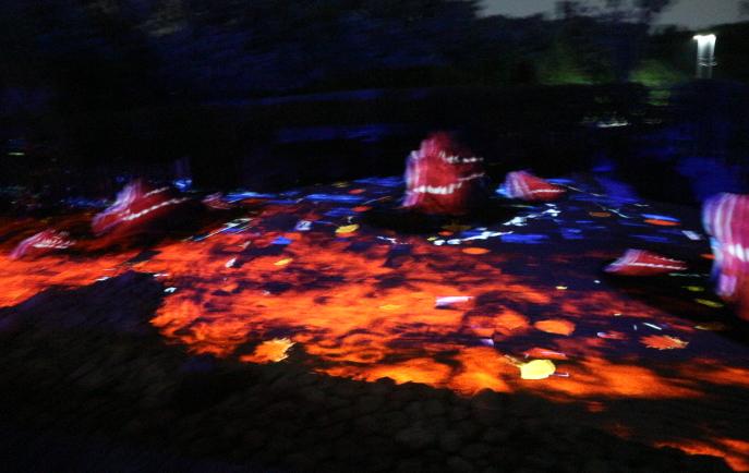 Dry Landscape garden of Kira-kira Garden.