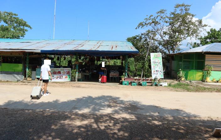 Coron Airport canteen