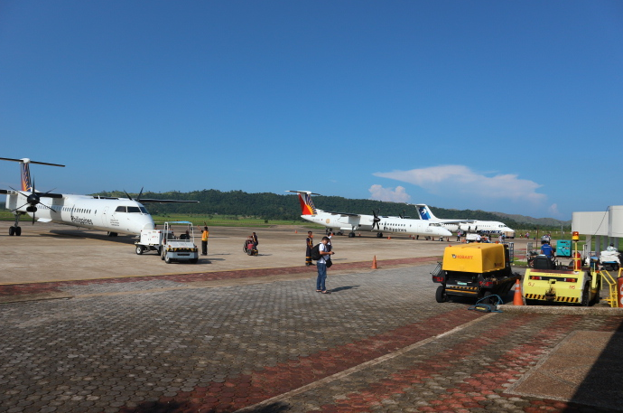 Boarding at Coron Palawan