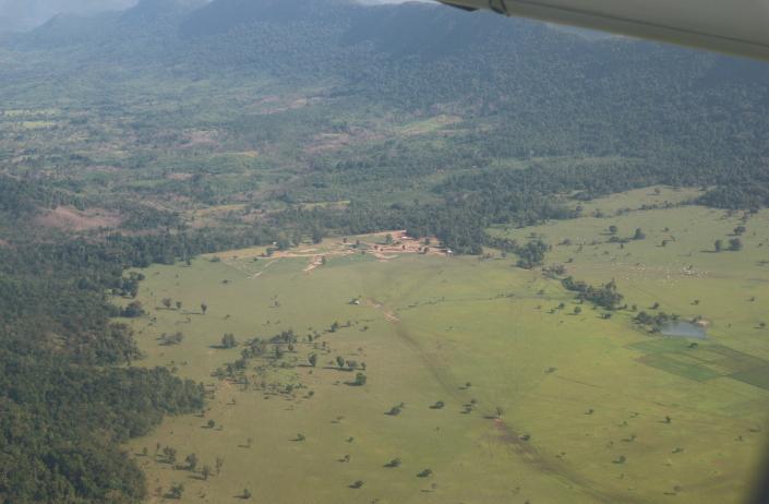 Aerial view  of Palawan.