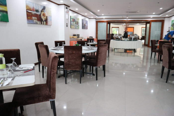 The sunlight guest hotel restaurant located at second floor of the hotel.