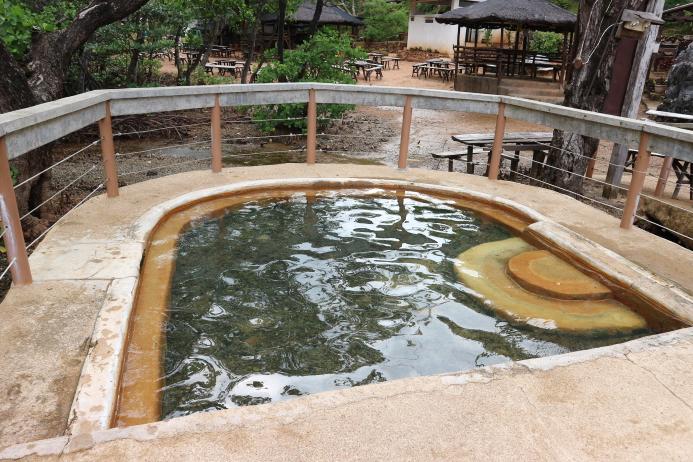 The Maquinit hotspring Coron Palawan.