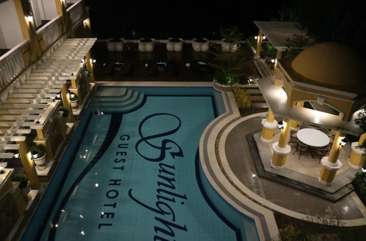 Our Sunlight Guest Hotel Dinner.
