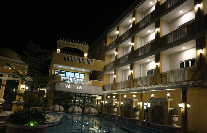 The sunlight guest hotel.