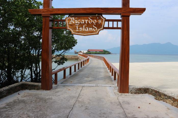 Ricardo's island of Sunlight eco-tourism resorts.