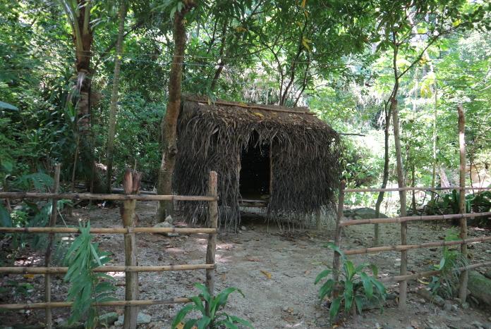 The mangyan Village Model house.