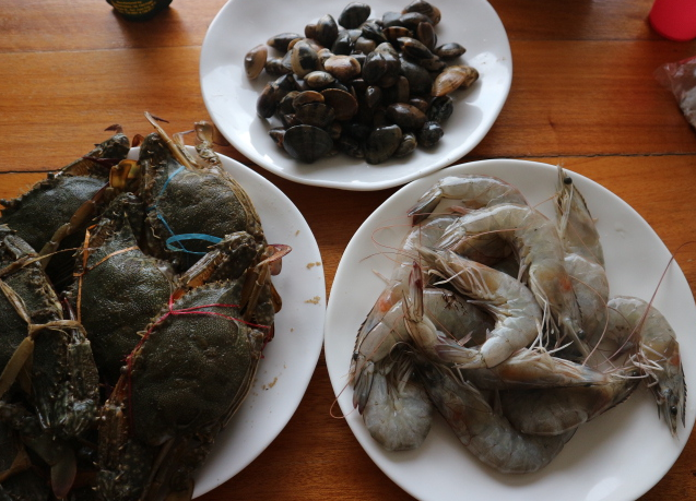 Our favorite seafoods.