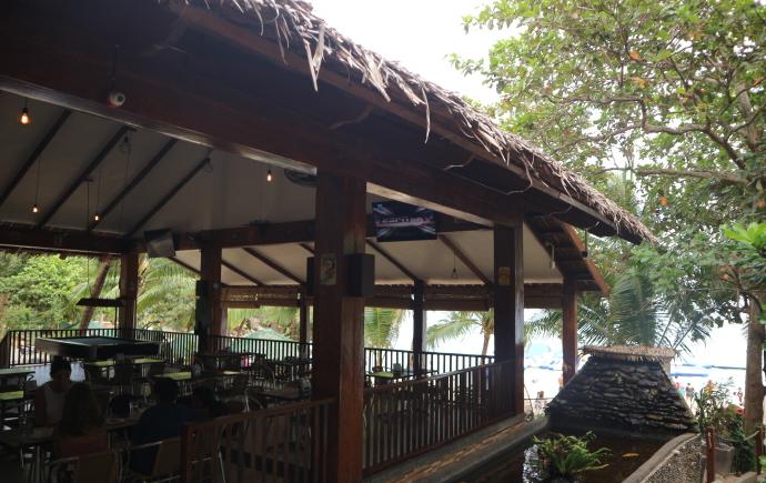 The aplayang Munti Restaurant.