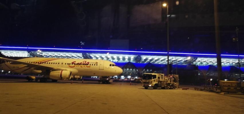 Thailand International Airport.