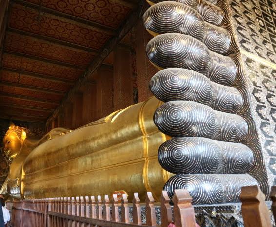 Bangkok Reclining Buddha.