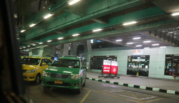 Thailand metered Taxi.