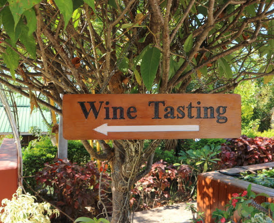 Winery wine tasting.