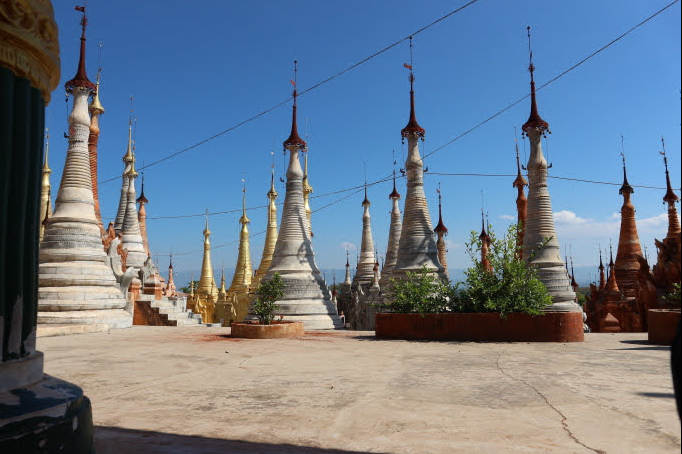 The Inn Dein Pagoda Heho Myanmar.