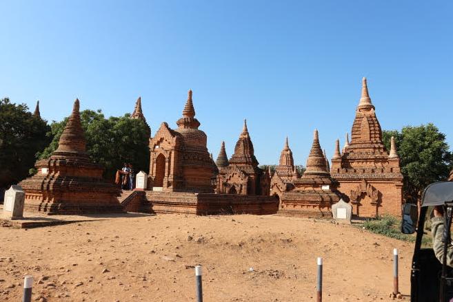 The Kay Min Gha Pagoda.