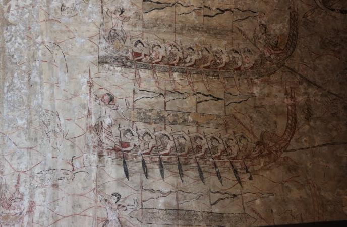 Intricate artwork of Sulamani Temple.