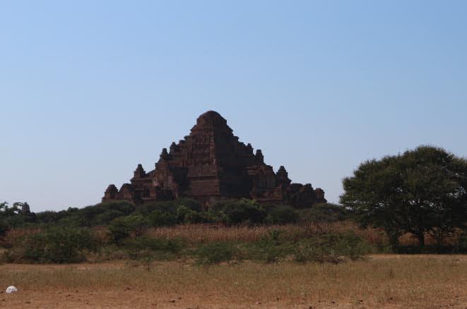 The Dhammayan Ghi Temple Myanmar.