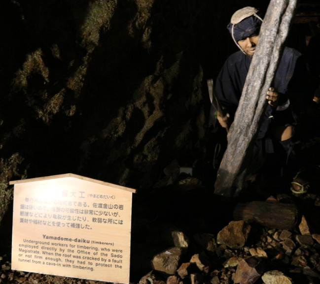 Doll presentation of Miners