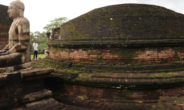Another angle of Polonnaruwa.