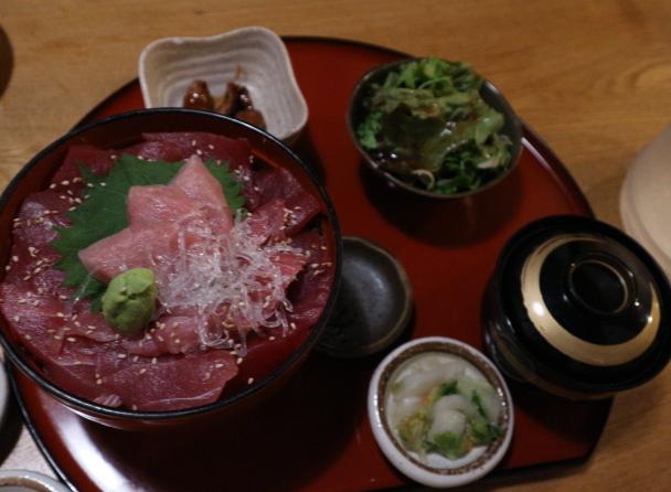 Donburi MAguro at Yamagata.