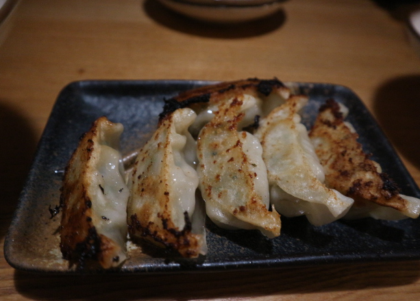 THe guoza at yamagata for our dinner.