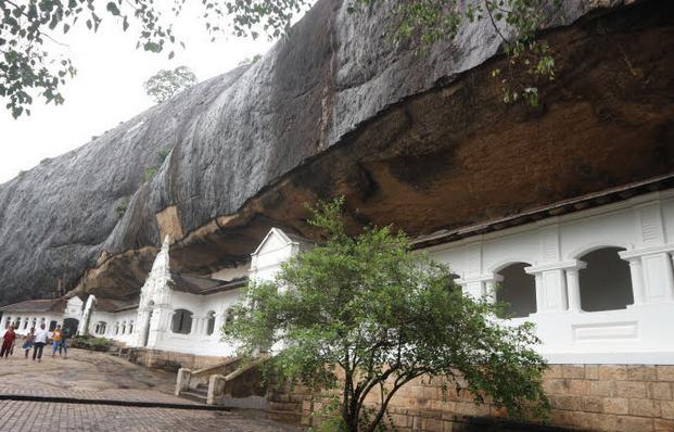 The rock temple Dambulla.