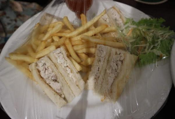 Sandwich at the hotel, dambulla.