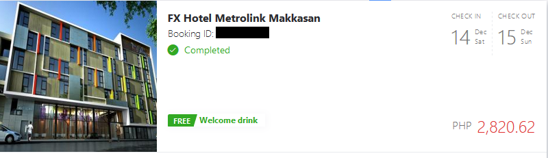 Our Agoda bookings when we stayed at Thailand.