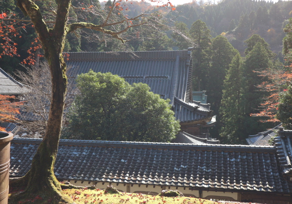 Another view from one of the rooms of Eihei-Ji Temple.