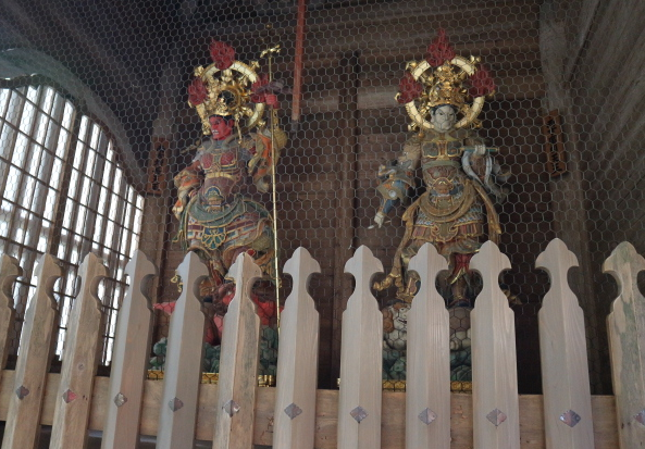 Oni Sculpture at Eihei-Ji Temple.