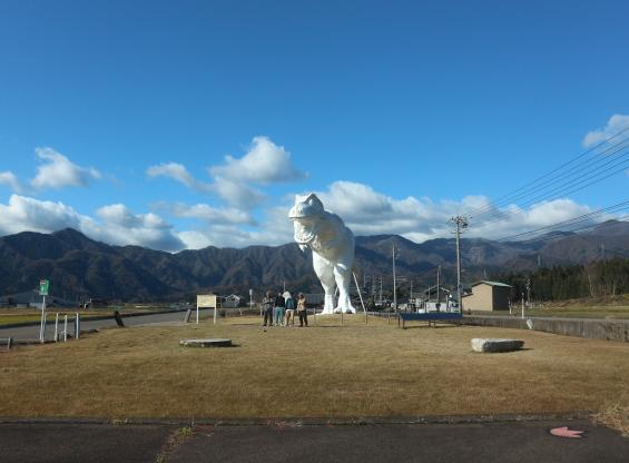 Dinosaur Museum of Fukai Prefecture.
