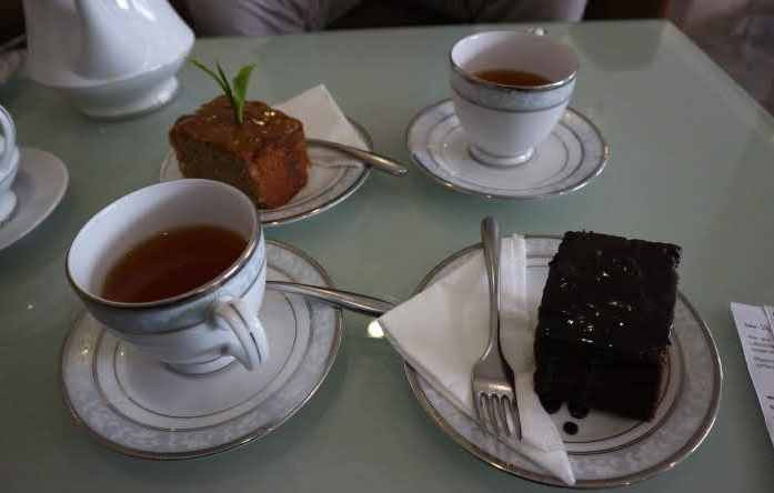 Some tea and dessert at Eliya.