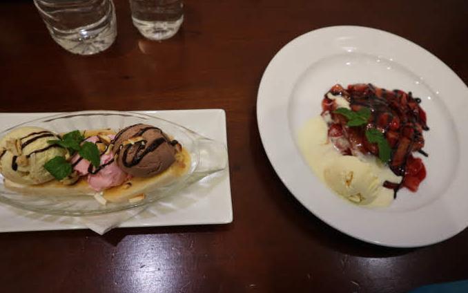 Dessert from Eliya hotel.