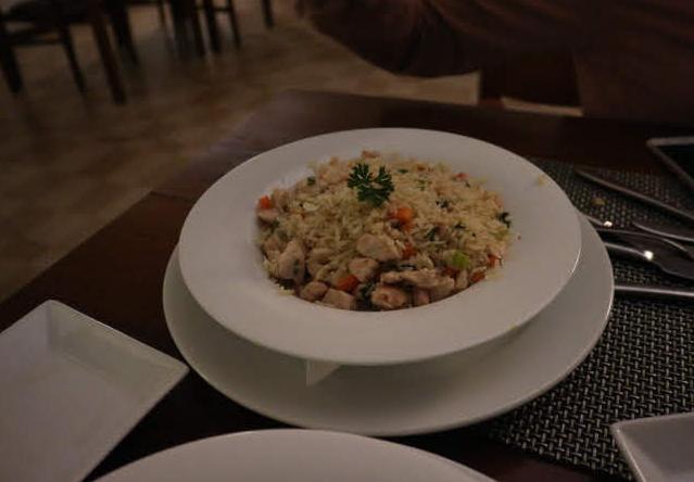 Fried rice from the heaven hotel Eliya Sri Lanka.