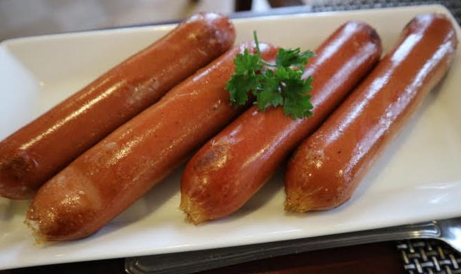 Sausages breakfast at Eliya.