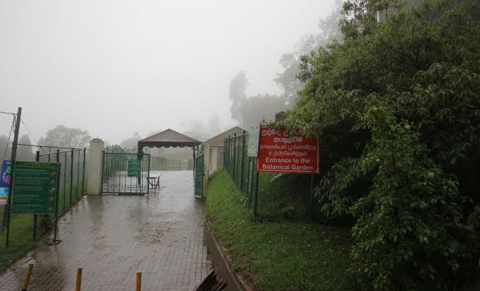 The Hakgala Botanical Garden