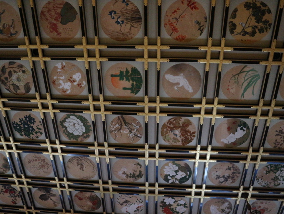 The detailed roof of Eihei-Ji Temple.