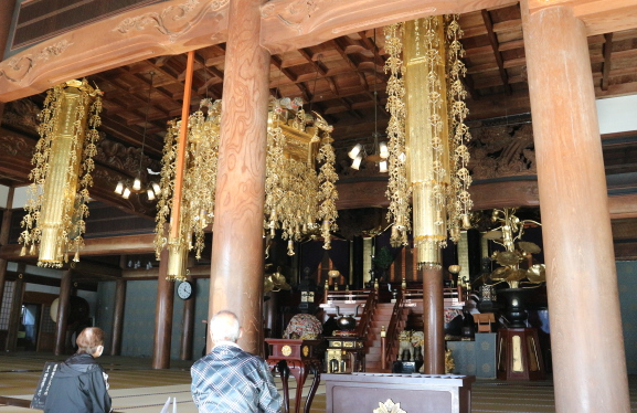 The ceremony hall of Eihei-Ji Temple.