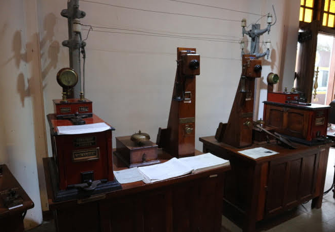 The communication equipment.